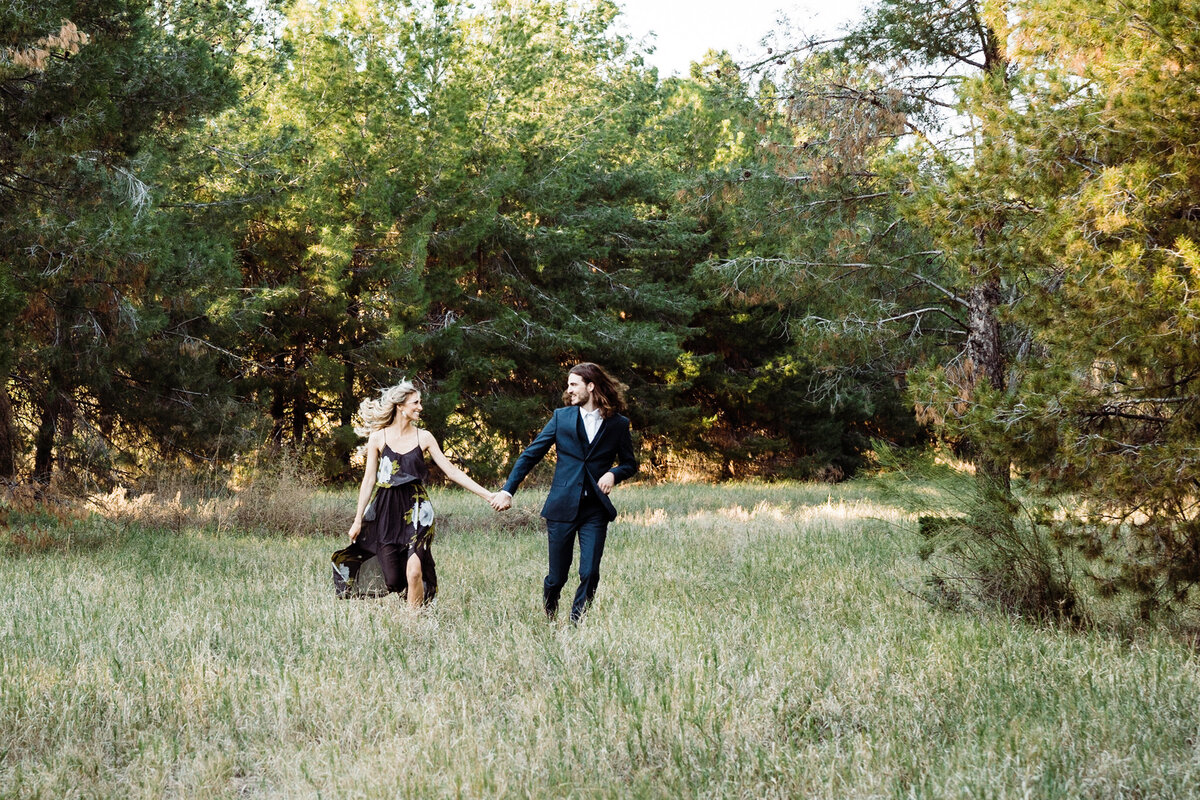 Couples Adventure In The Woods  - Atlas Rose Photography AZ 01
