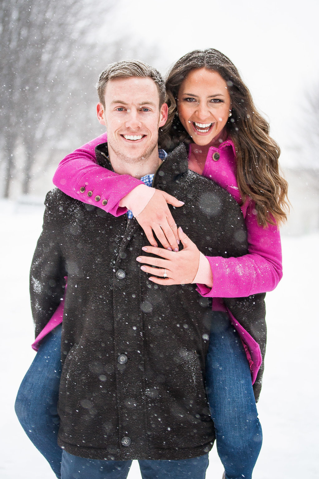 Millennium Park Chicago Illinois Winter Engagement Photographer Taylor Ingles 40