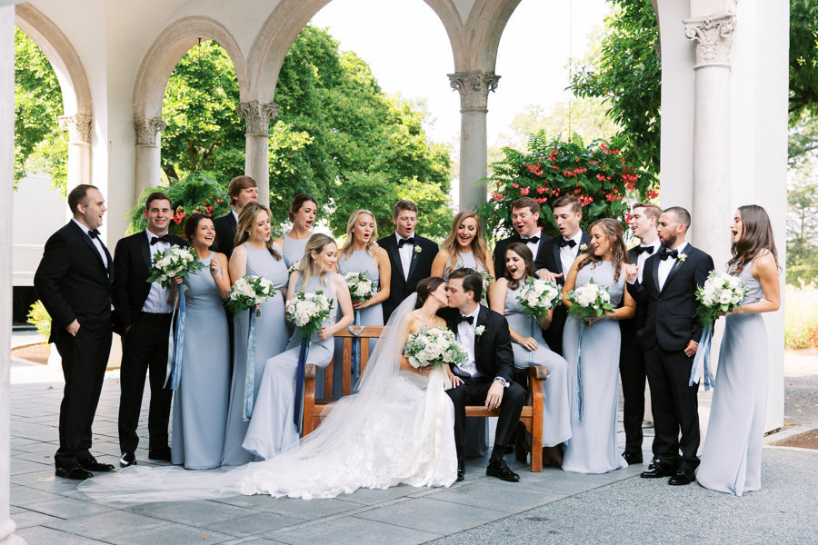 Bridal-Party-Light-Blue-Congressional-Country-Club.