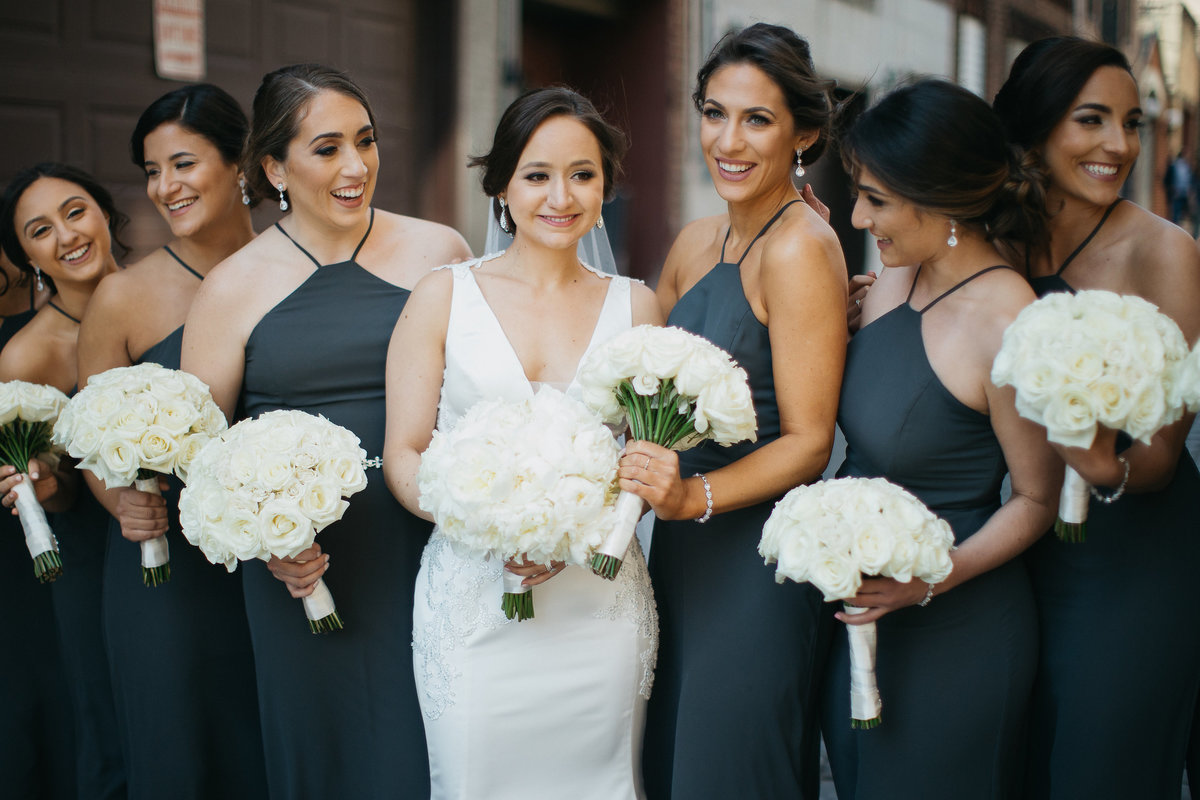Westmount Country Club white modern New Jersey wedding 9