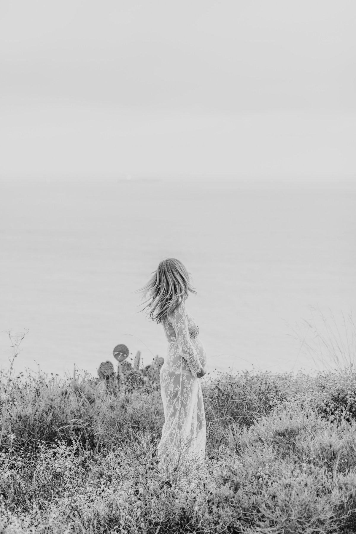 Southern California Coastline Maternity Session_Valorie Darling Photography-6509