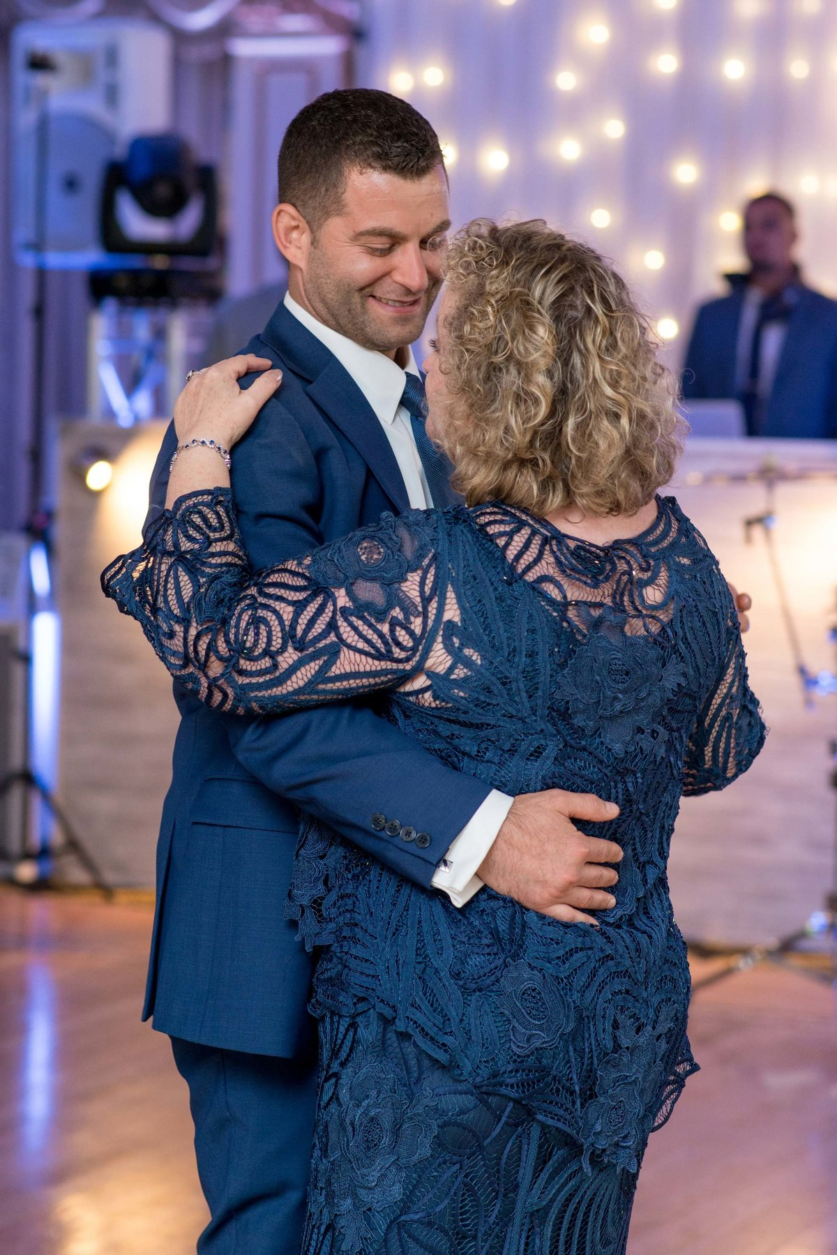 Mother son dance at Giorgio's Baiting Hollow
