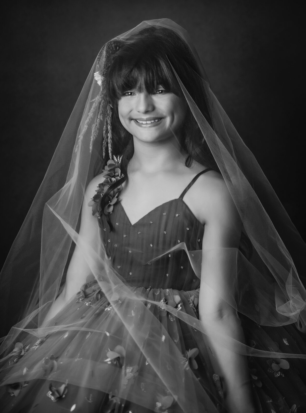 Child-couture-photographer-Skagit-BW