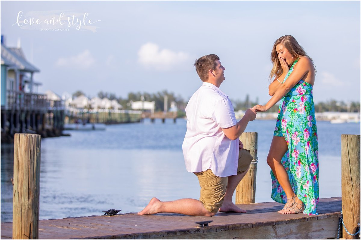 Engagement Photography on Anna Maria Island