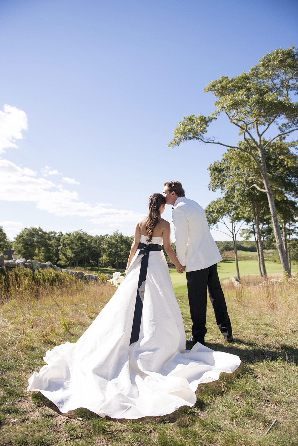 Shelter Harbor Golf Club Wedding Cover