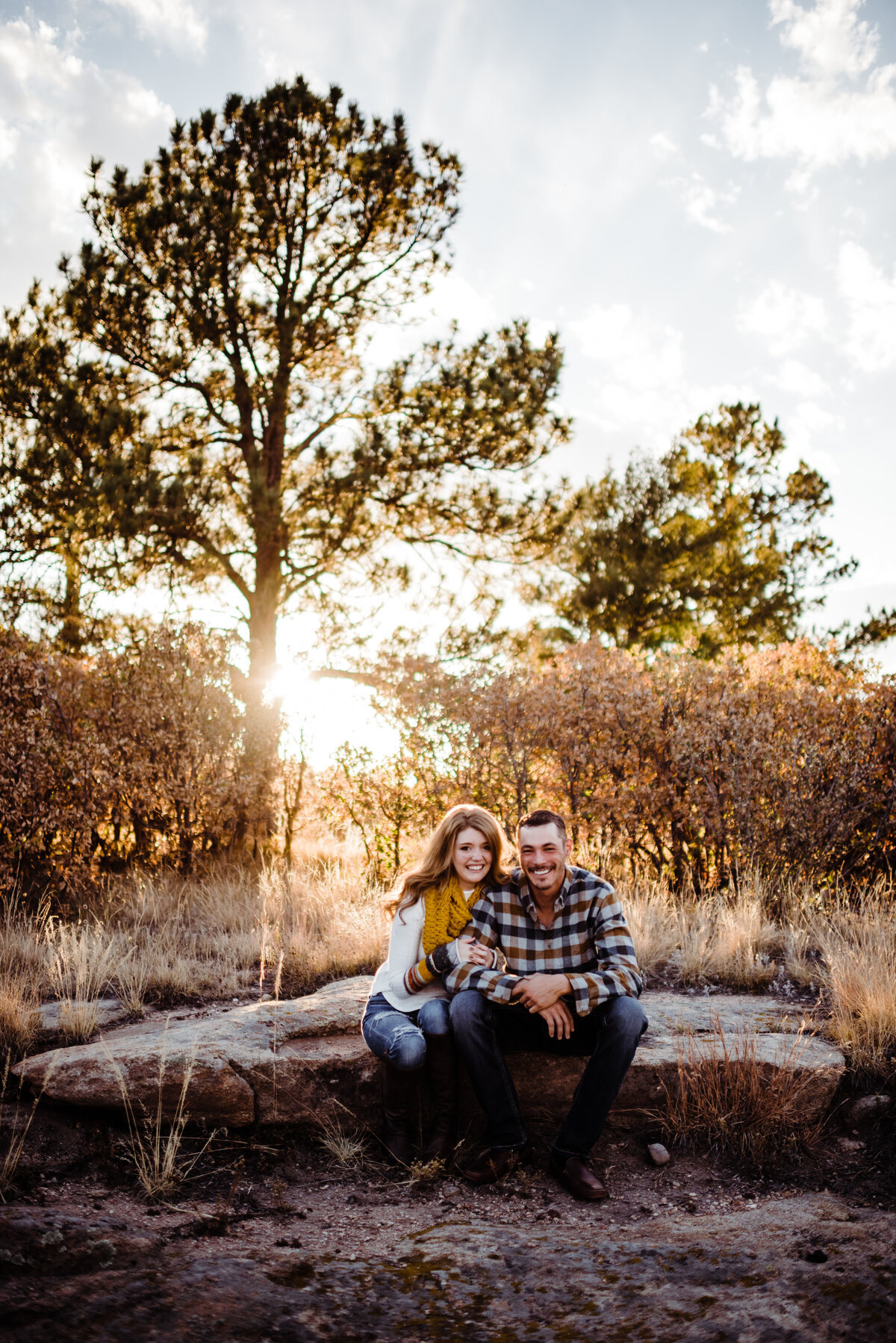 Castlewood Canyon Engagement Session - Randy and Ashley Studios - Justin and Jordan-131