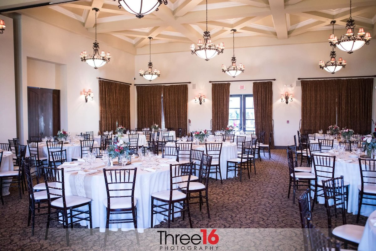 Golf Club of California Wedding Fallbrook Reception hall
