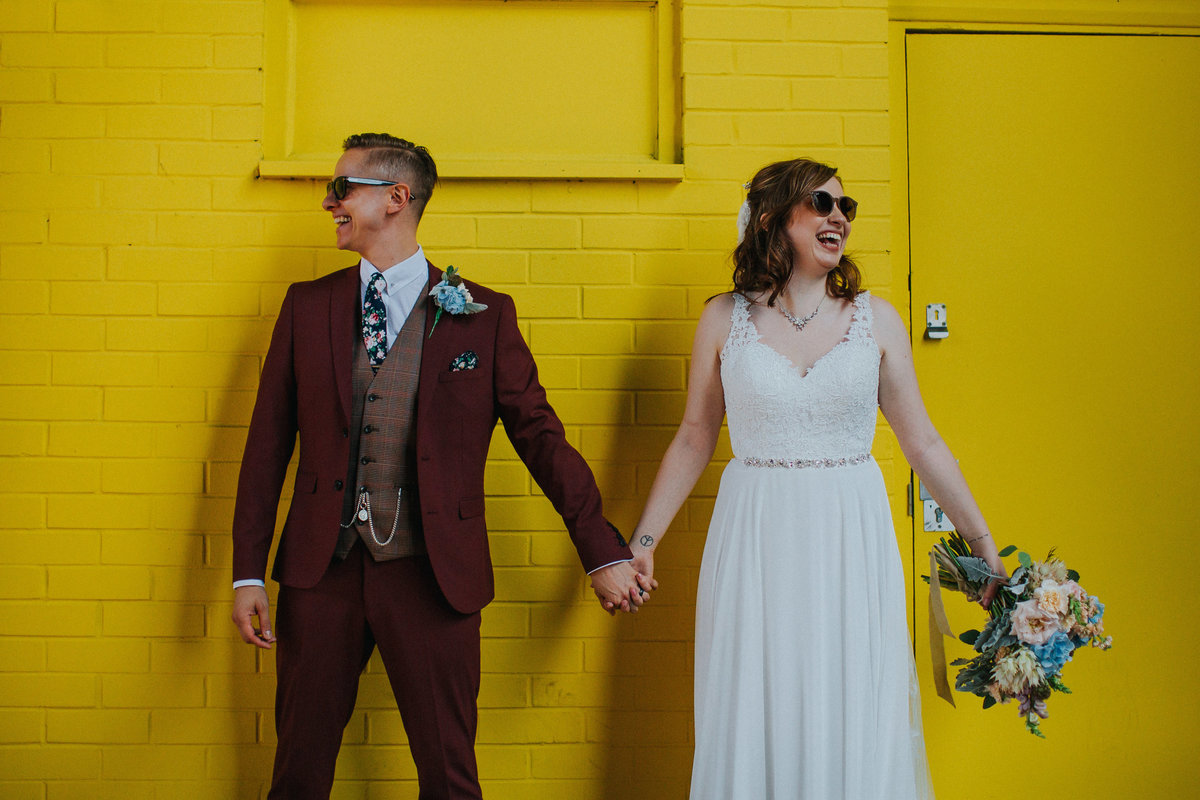 Digbeth Wedding -- Danielle & Anthony- Electric Blue -4