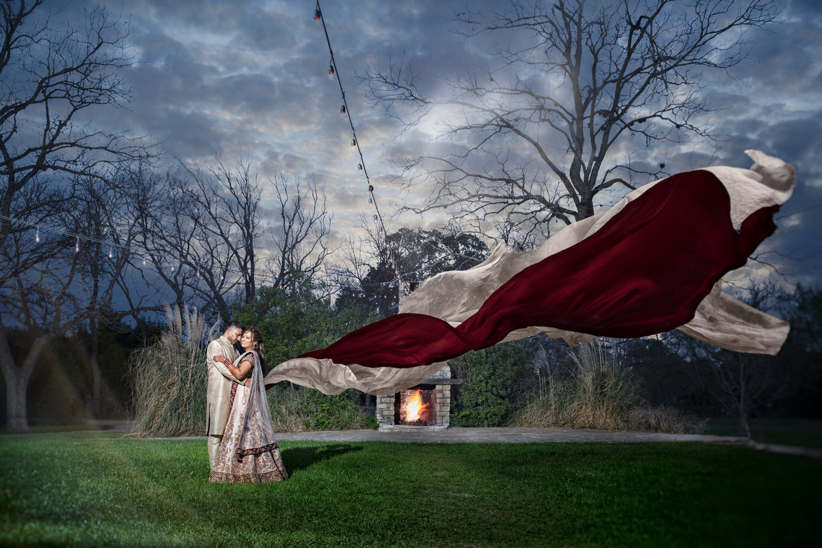 luxury wedding photographer indian pecan springs ranch artistic veil 10601 B Derecho Drive, Austin, TX 78737