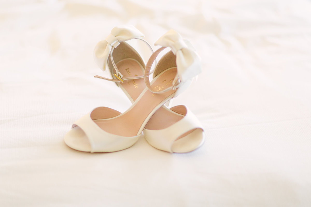Bridal shoes for Firestone Winery wedding