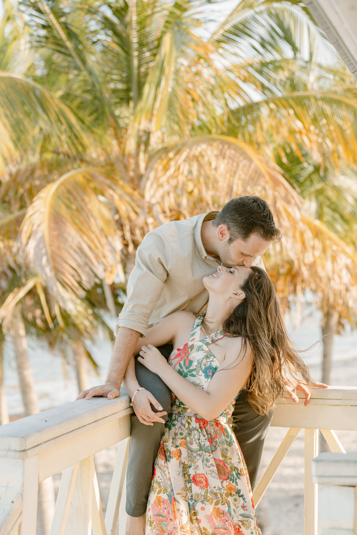 Fairchild Tropical Gardens Engagement Photography Session 13