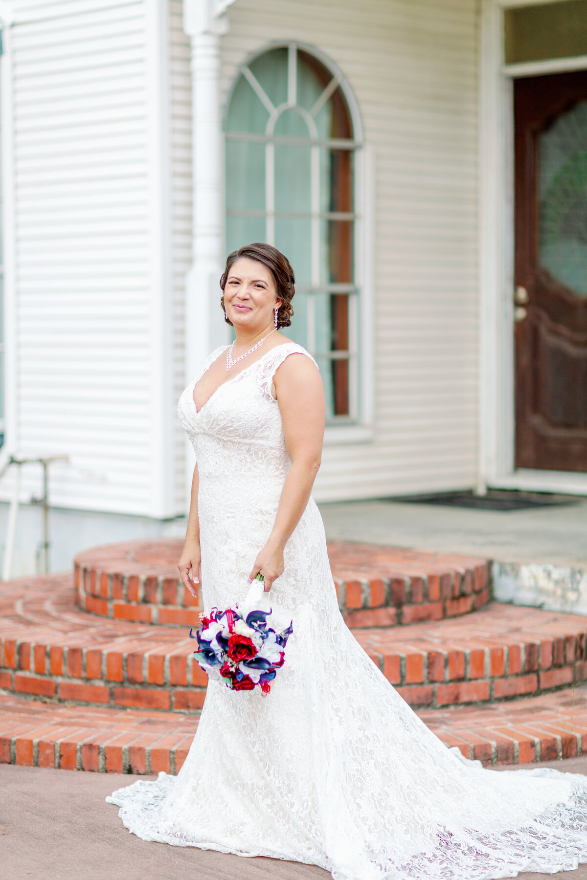 Bridal Portrait at City Acre Brewing