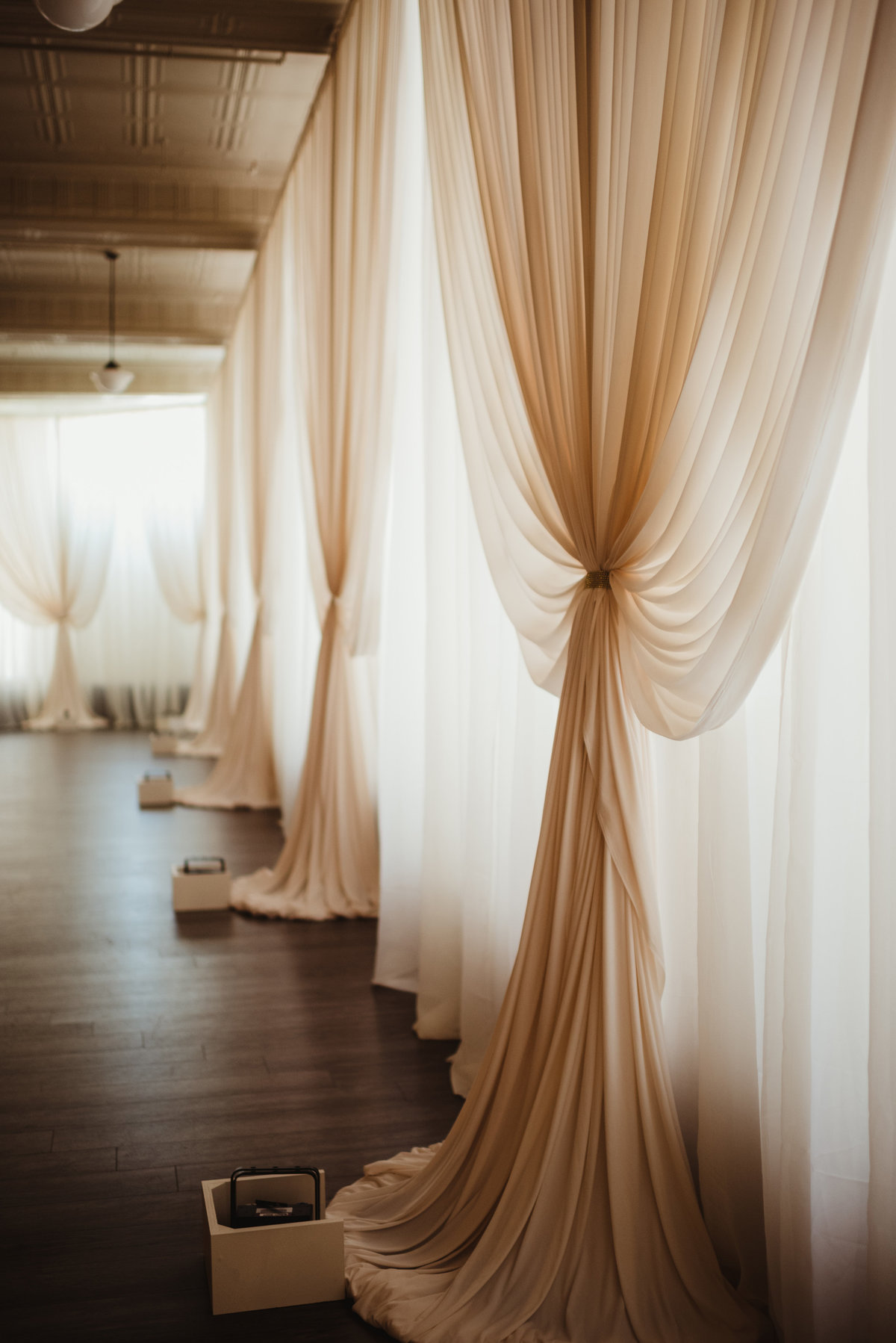 drape, reception decor, draping