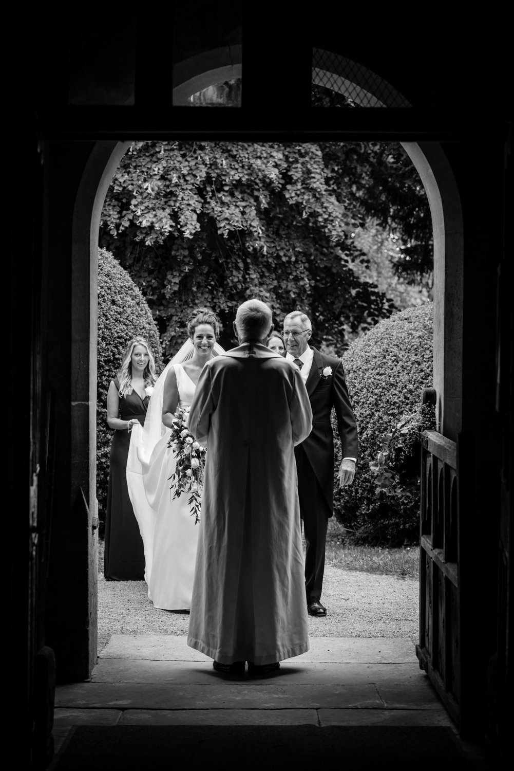 Weston on the Green Church Oxford wedding photography