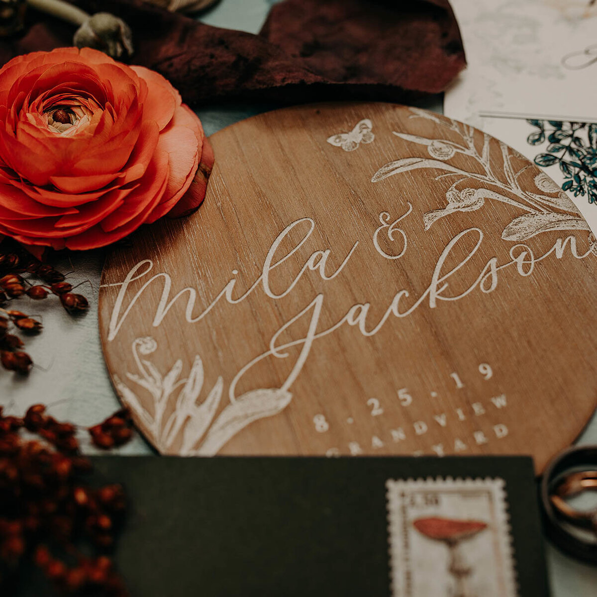 boho theme wedding