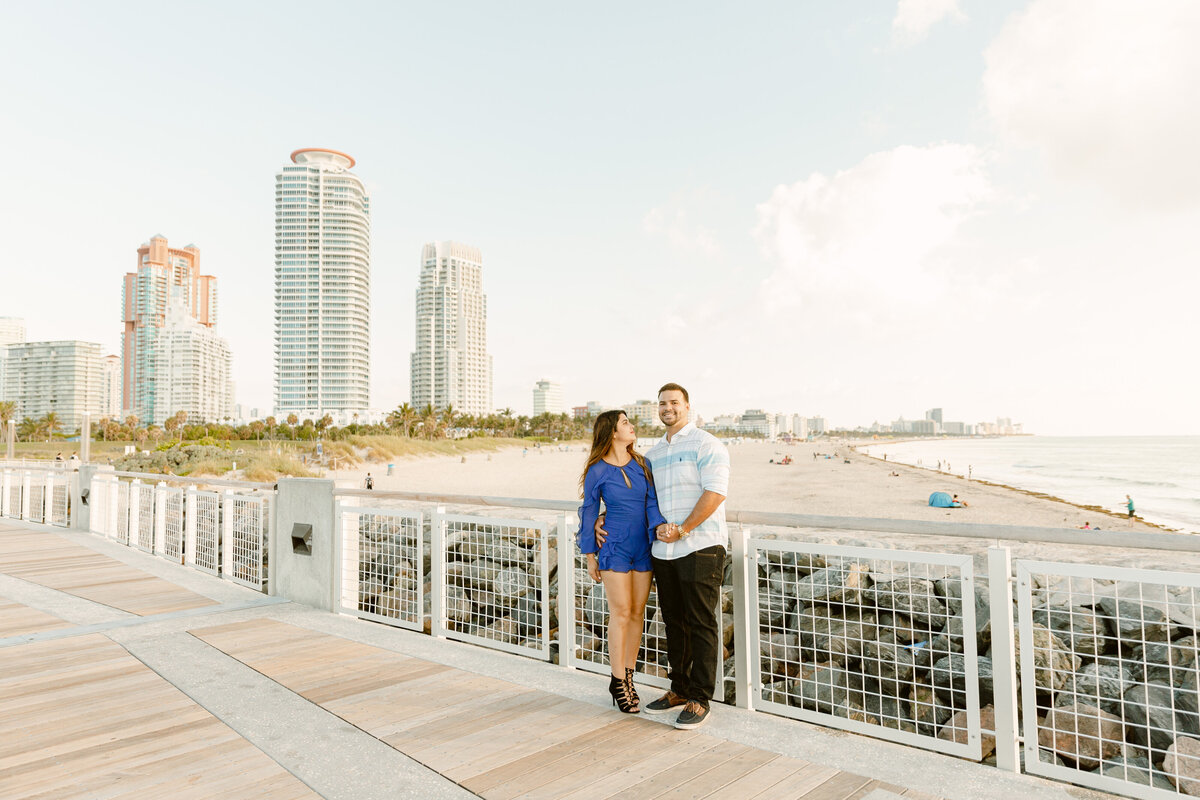 South Pointe Park Engagement Photography Session 16
