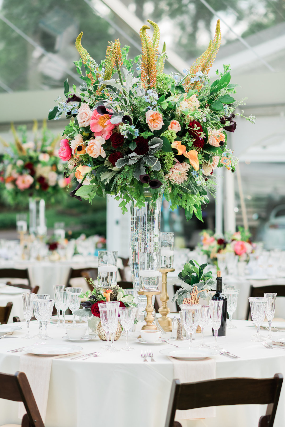 Fine art wedding floral design