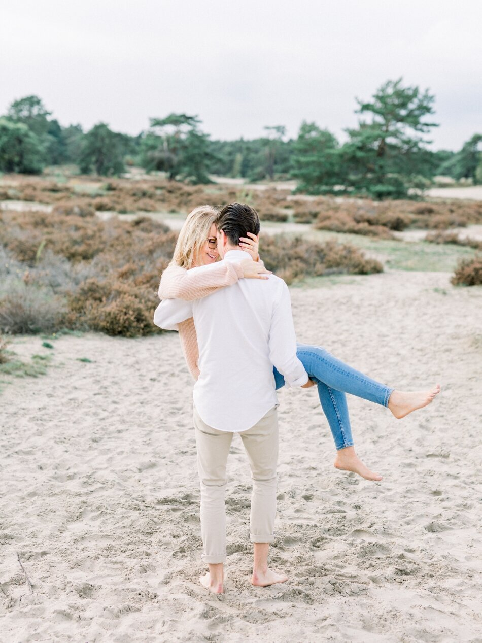 Engagement photos Soesterduinen by Fine Art Photographer Michelle Wever Photography_0012