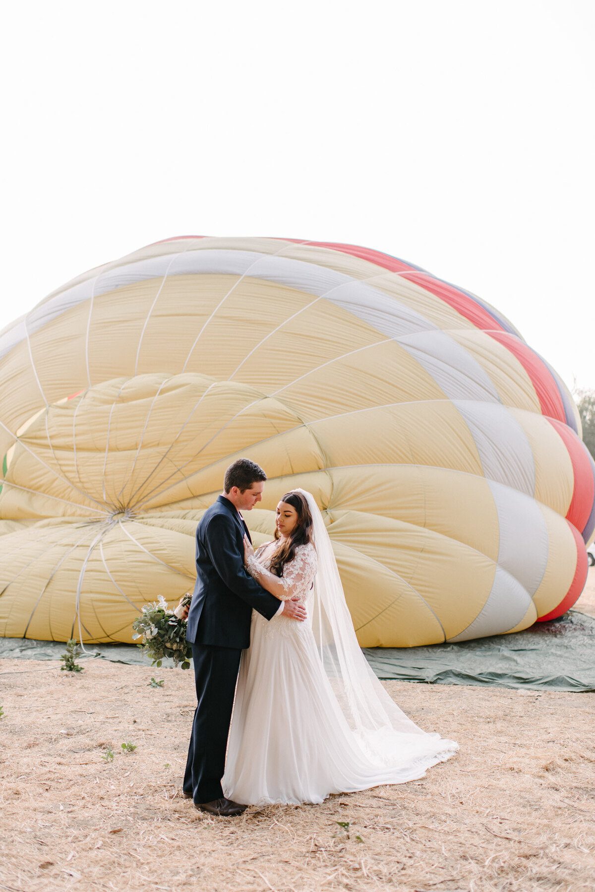 Hot Air Balloon Elopement Marie Monforte Photography-93