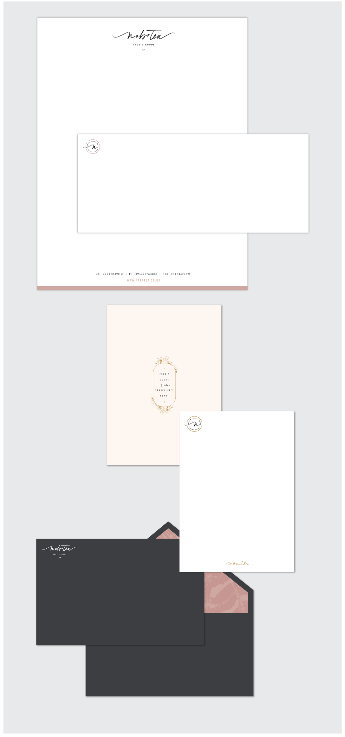 Nabatea-stationery