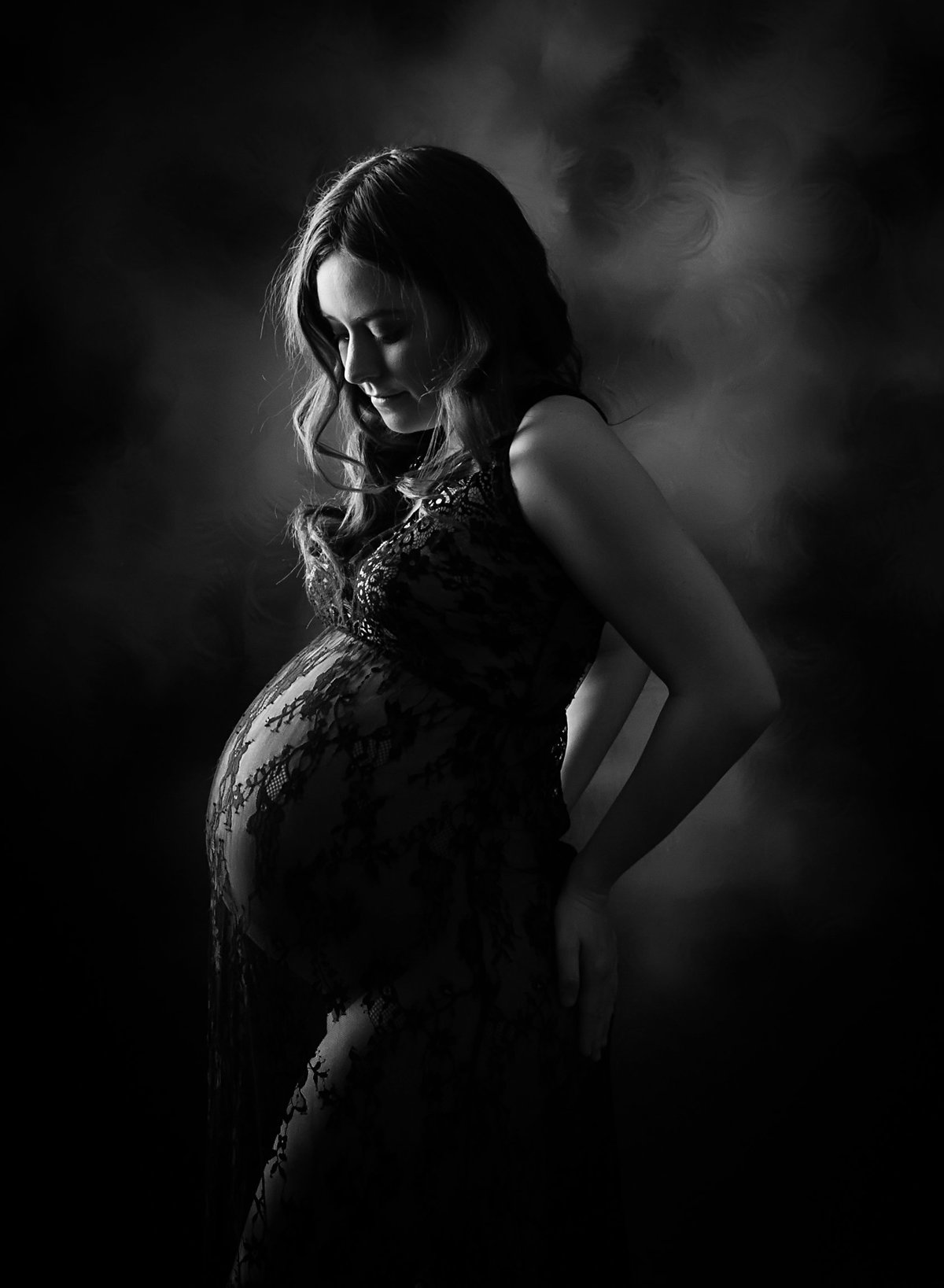 unique_Black_white_pregnancy_photographer_nj