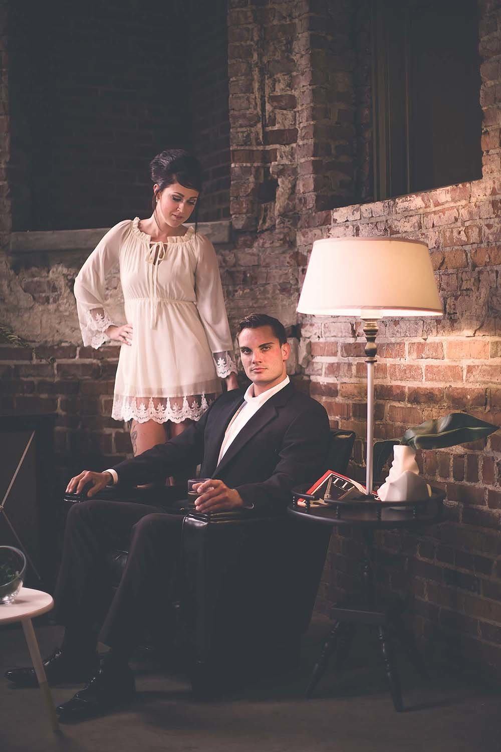 mad-men-themed-engagement-couples-styled-session-jacksonville-fl-breaking-tradition
