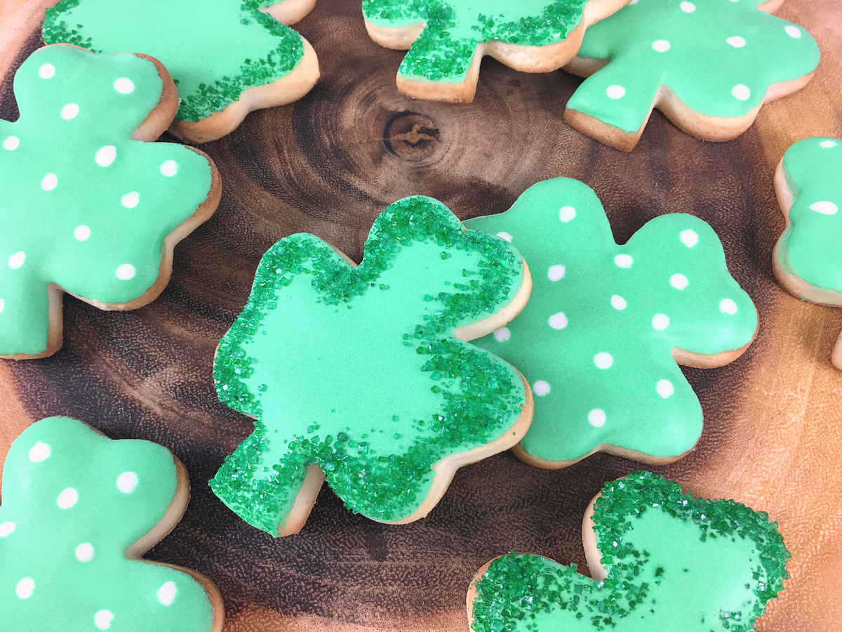 Whippt Desserts - St Patricks Day cookies