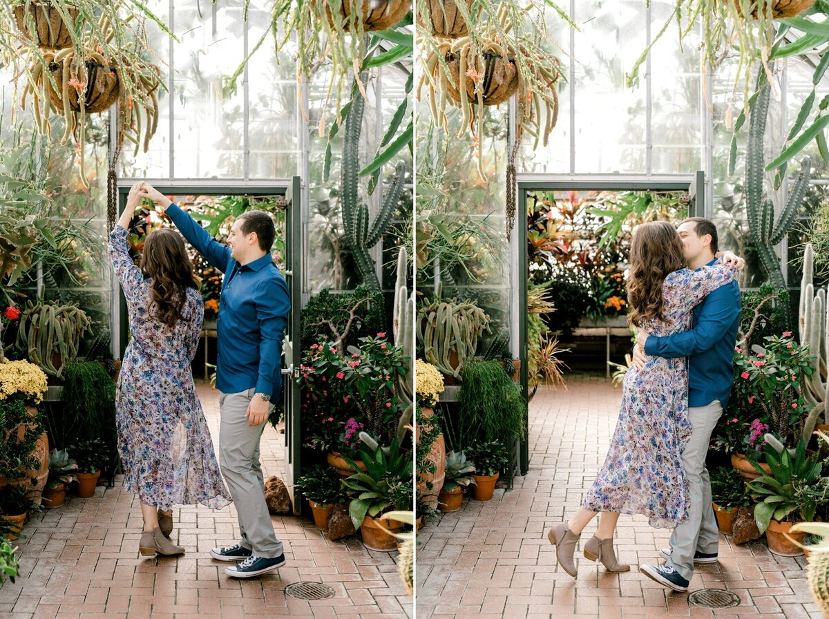 Biltmore Estate Engagement Session 5