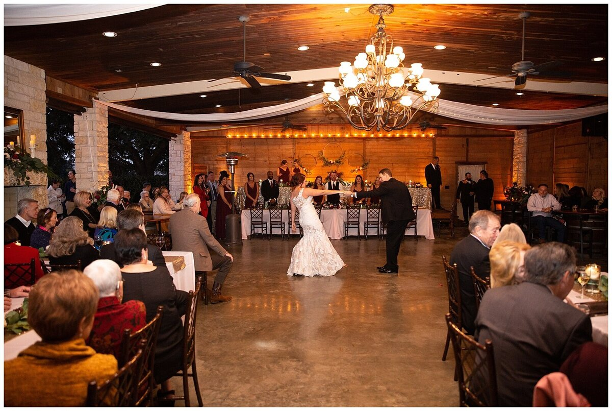 Rustic Burgundy and Blush Indoor Outdoor Wedding at Emery's Buffalo Creek - Houston Wedding Venue_0692