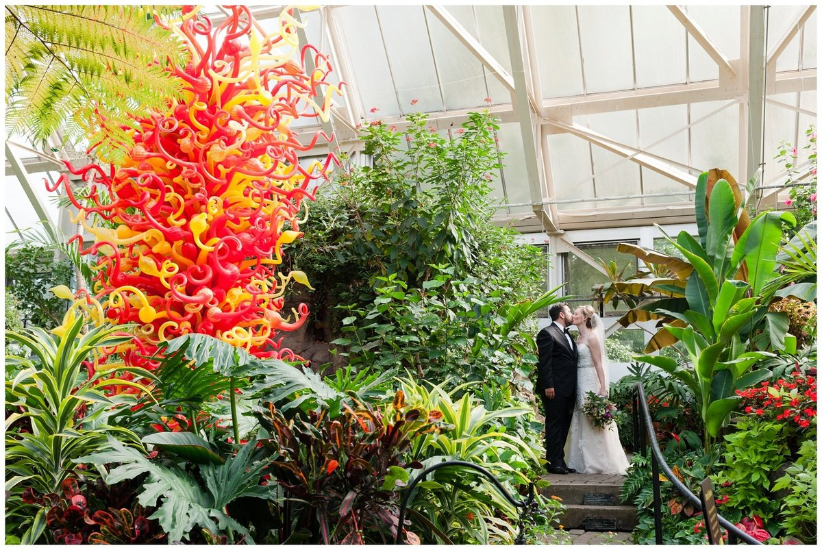 Franklin Park Conservatory Wedding The Palm House Bridal Garden Grove_0033