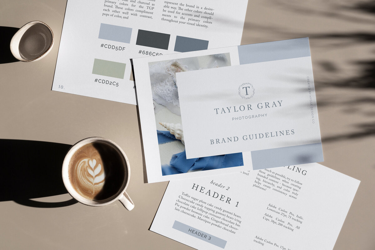 taylor gray photography brand guide