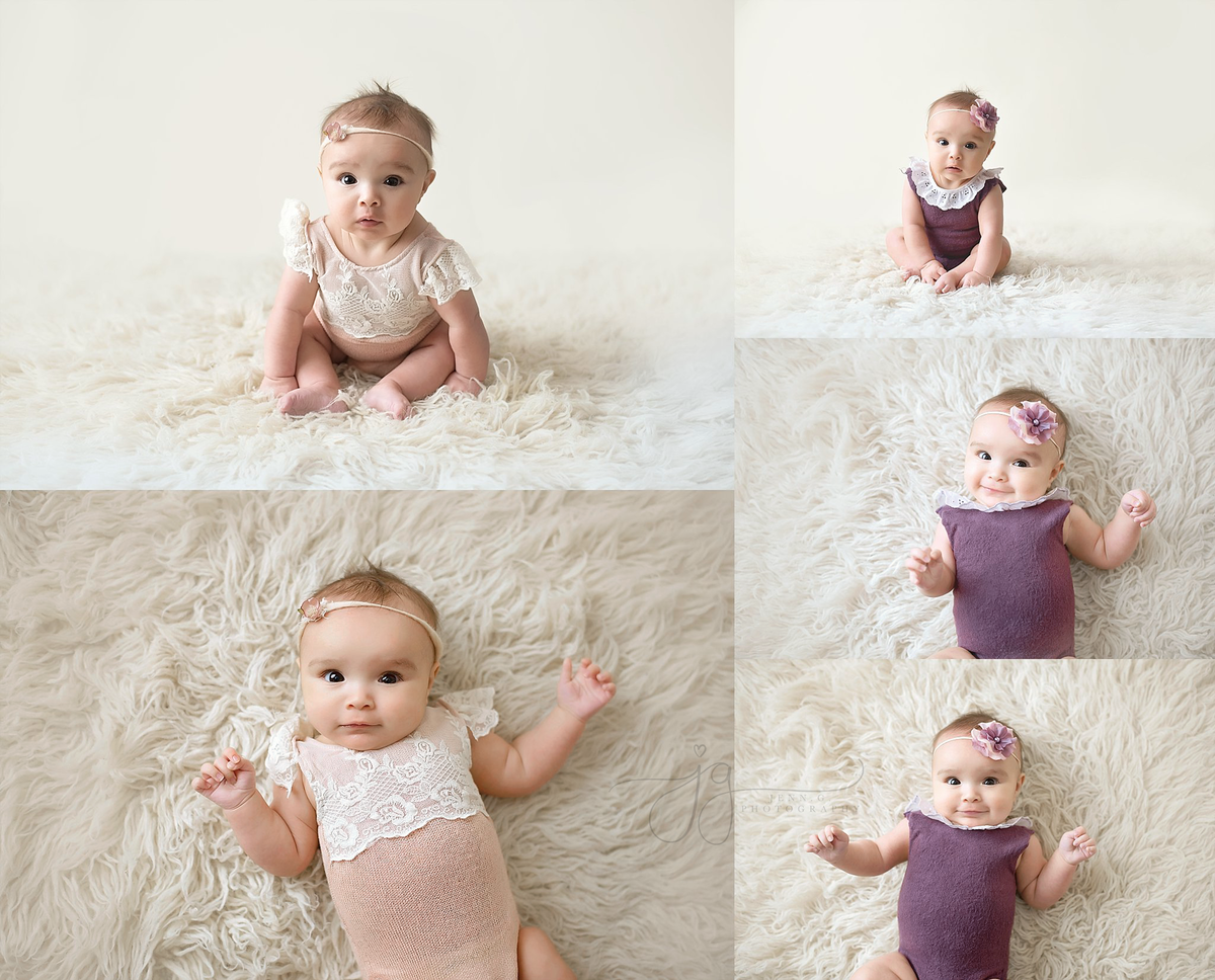 4 month portraits