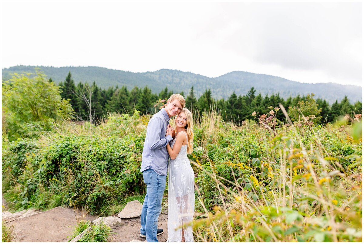 Black Balsam Knob - Asheville Engagement Photographer - Tracy Waldrop Photography_0326