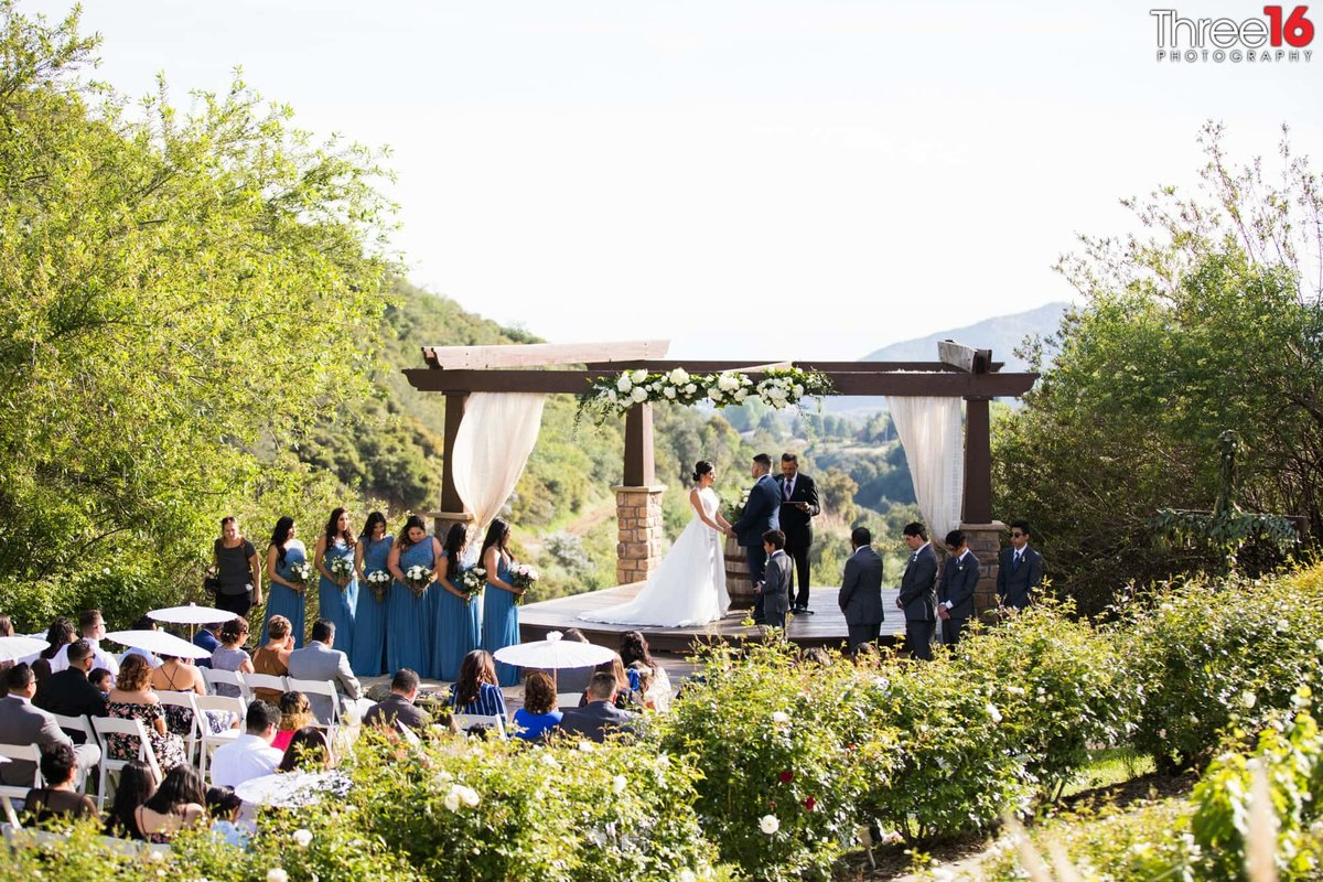 Wedding Ceremony at Serendipity Gardens