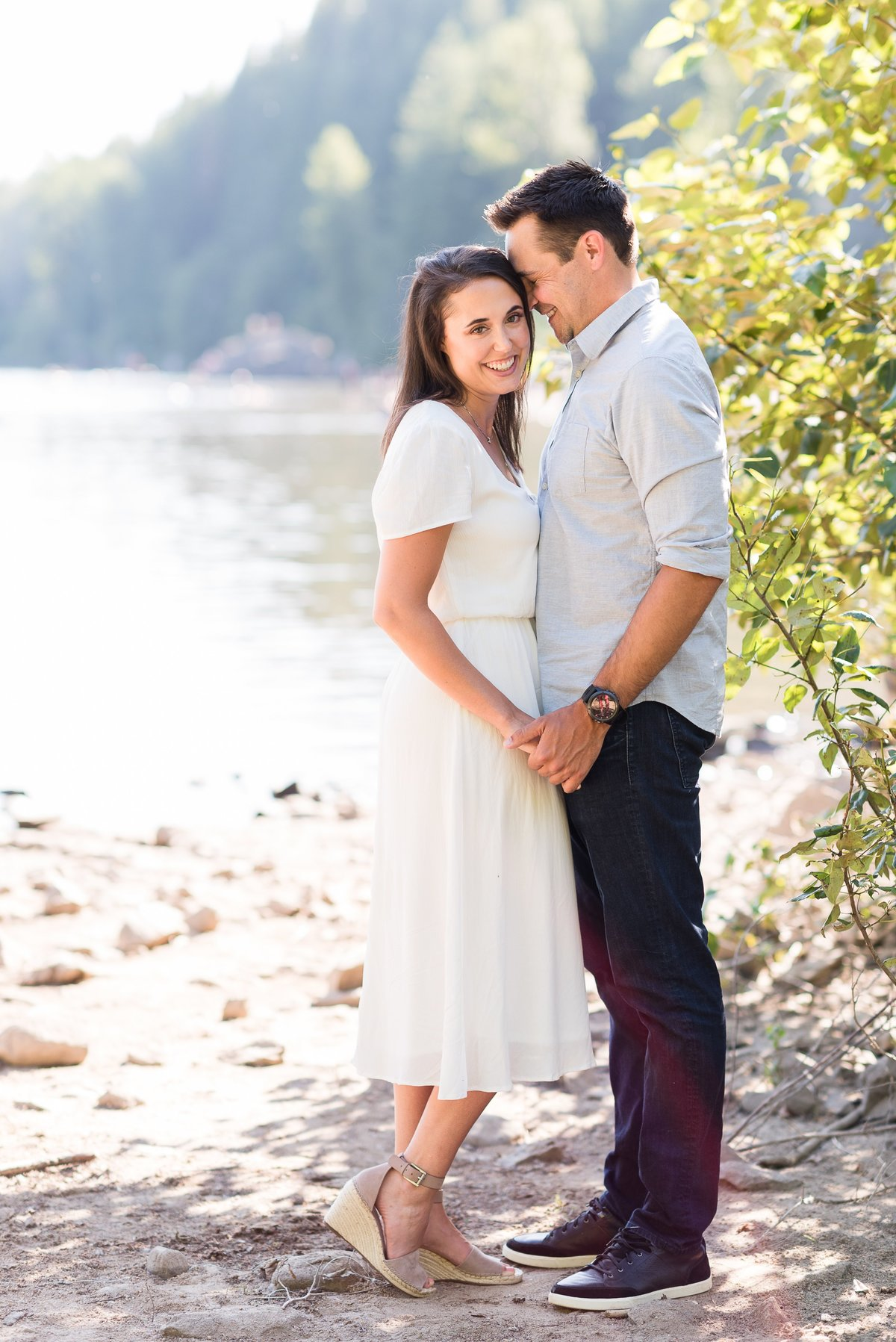 Rattlesnake Lake Engagement Session - 15