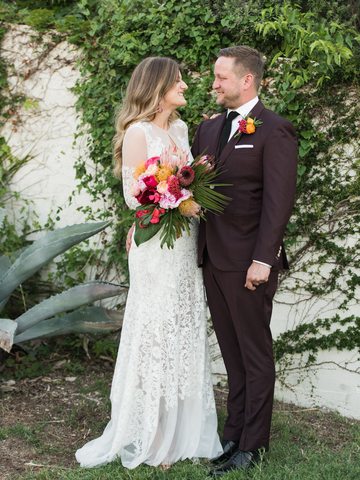 Courtney Hanson Photography - Vintage Tropical Wedding at The Belmont Hotel in Dallas-0607