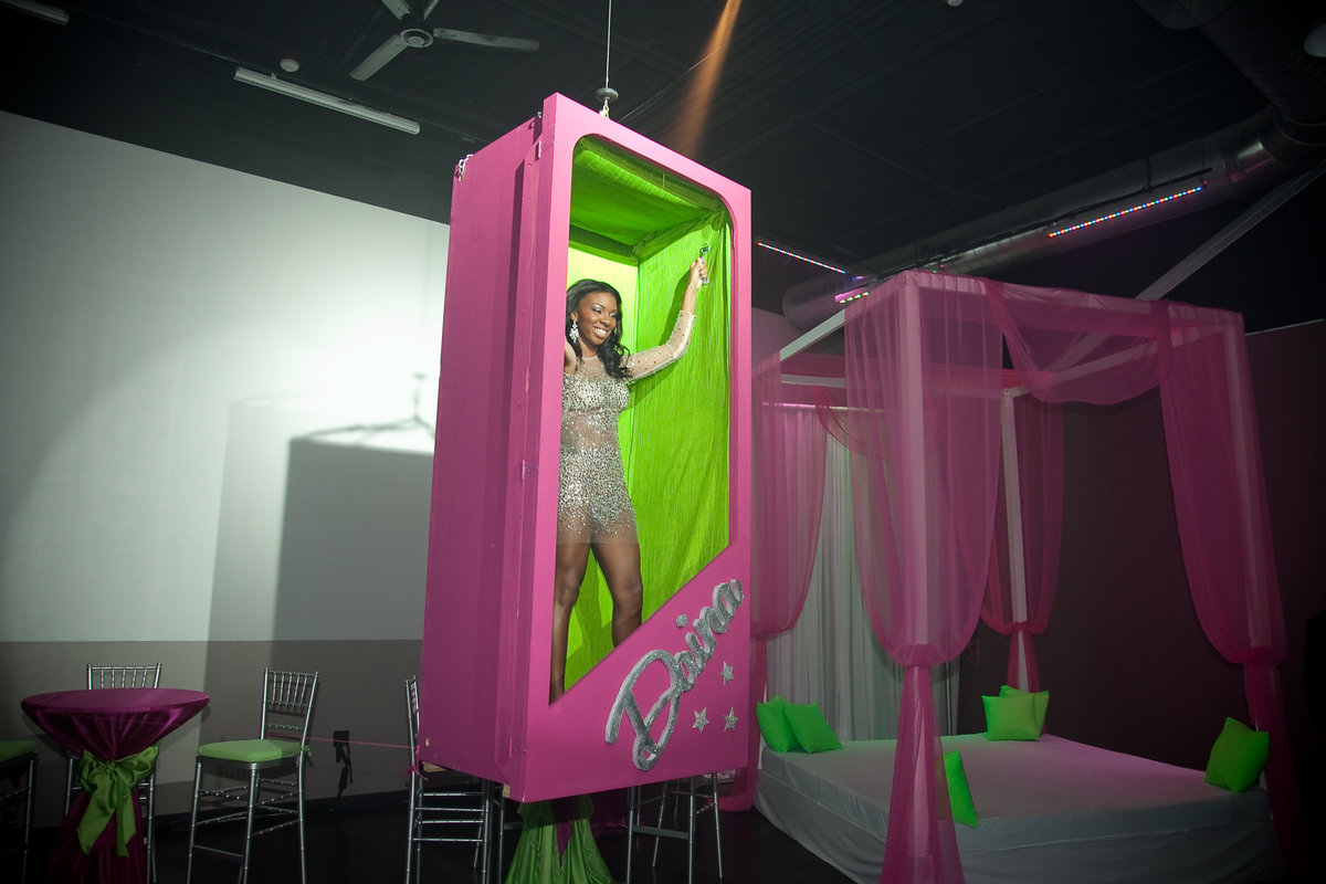 Barbie themed pink green birthday party New Jersey Event Planner NJ Event Designer 9