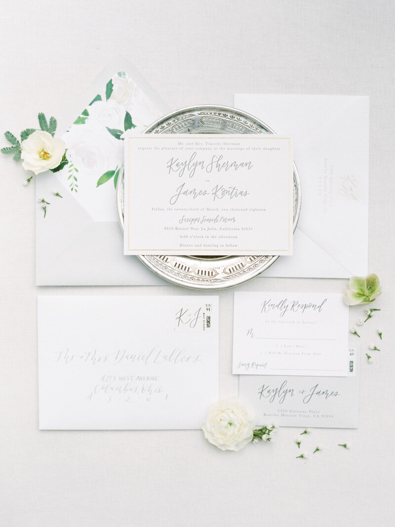 pirouettepaper.com | Wedding Stationery, Signage and Invitations | Pirouette Paper Company | Scripps Seaside Forum La Jolla Wedding | Savan Photography _ (13)