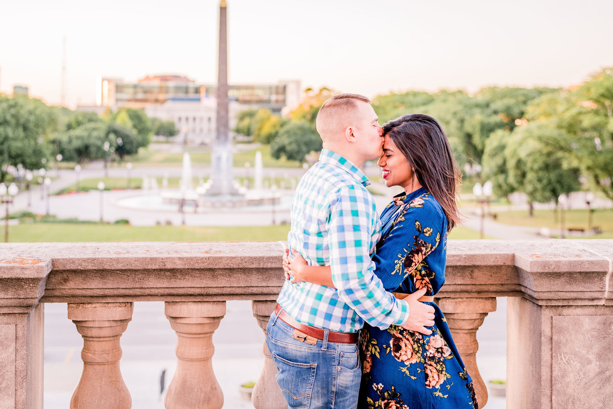 Engagement Photographer Couple Photographer Downtown Indianapolis Photographer-9