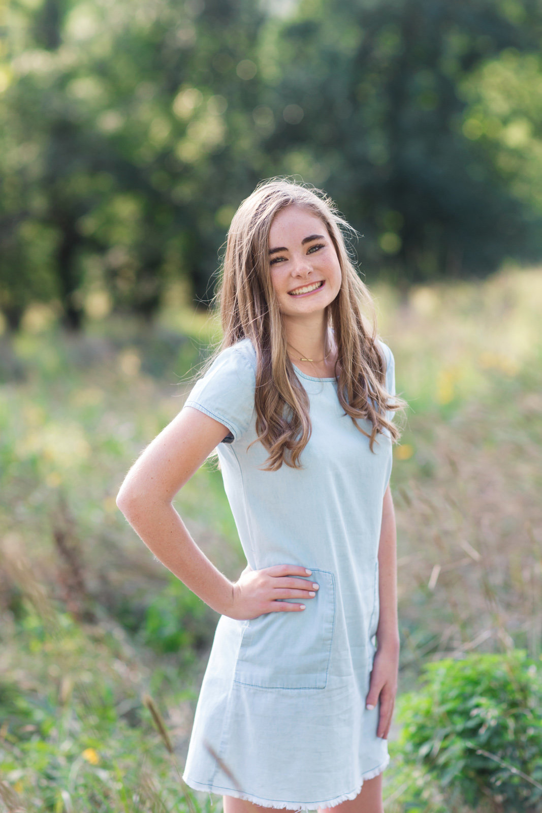 L Photographie high school senior photos Queeny Park 19