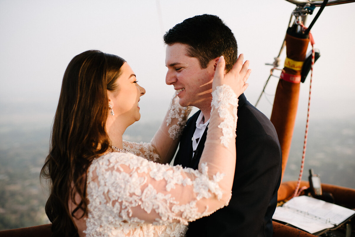 Hot Air Balloon Elopement Marie Monforte Photography-143