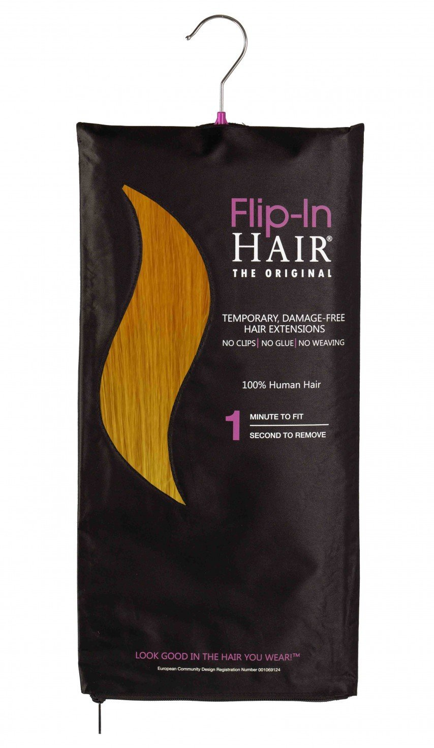 Flip-In Hair Original Yellow