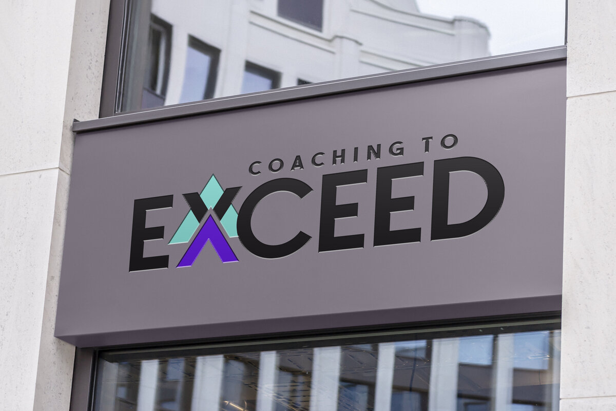 Coaching to Exceed Mockup