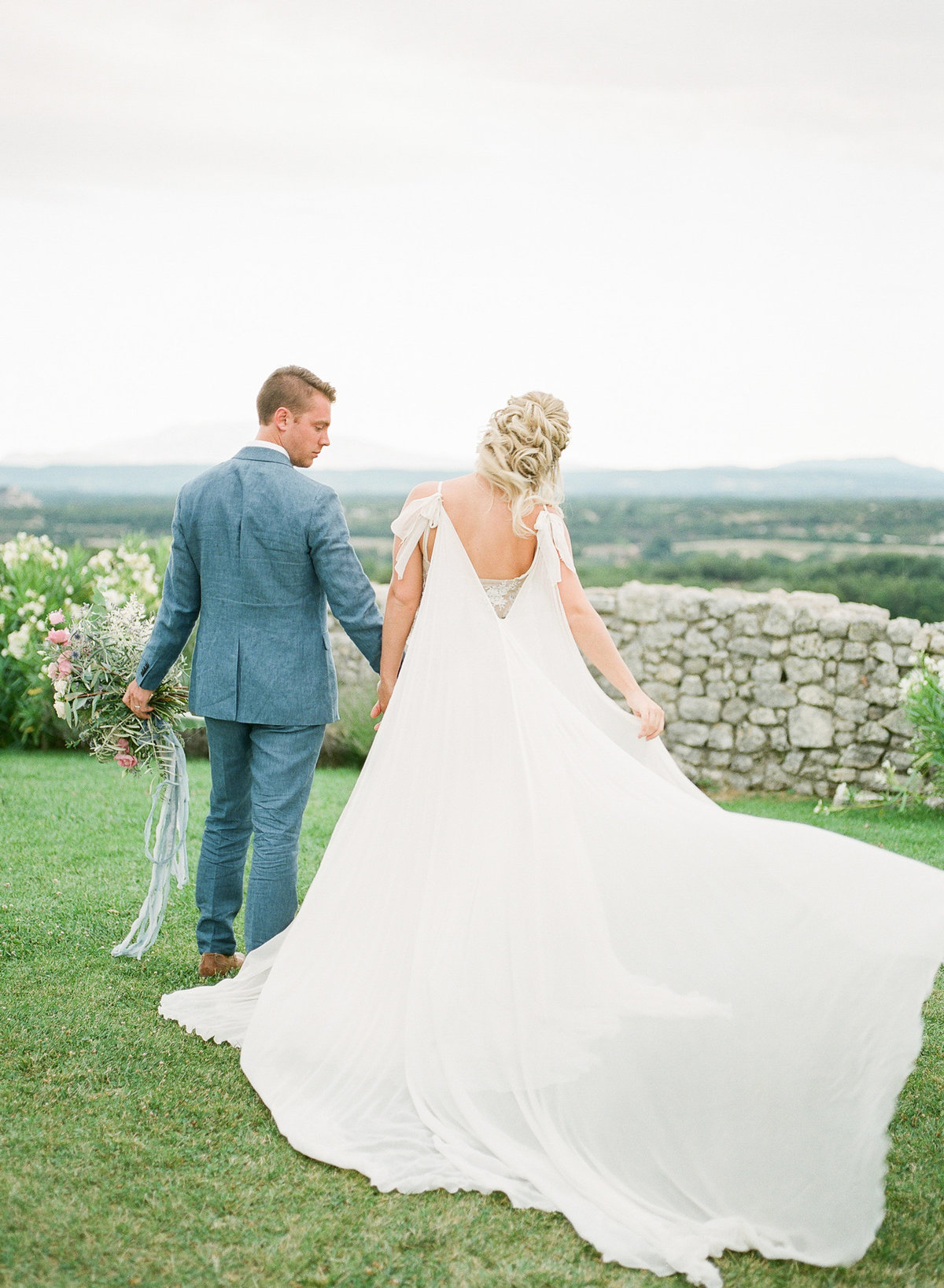 Domaine de Sarson Provence France Wedding-101