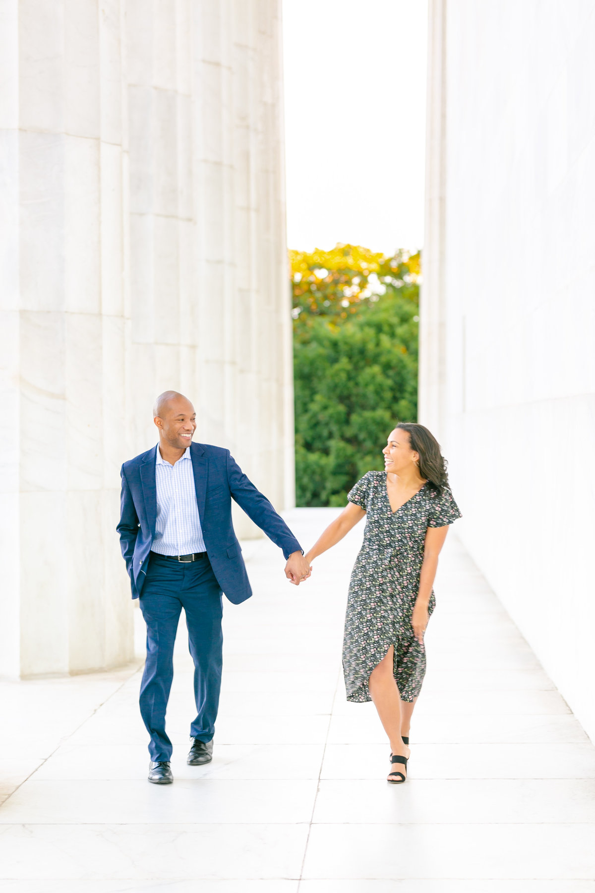 lincoln memorial engagement session k + d - sarandipity photography-59
