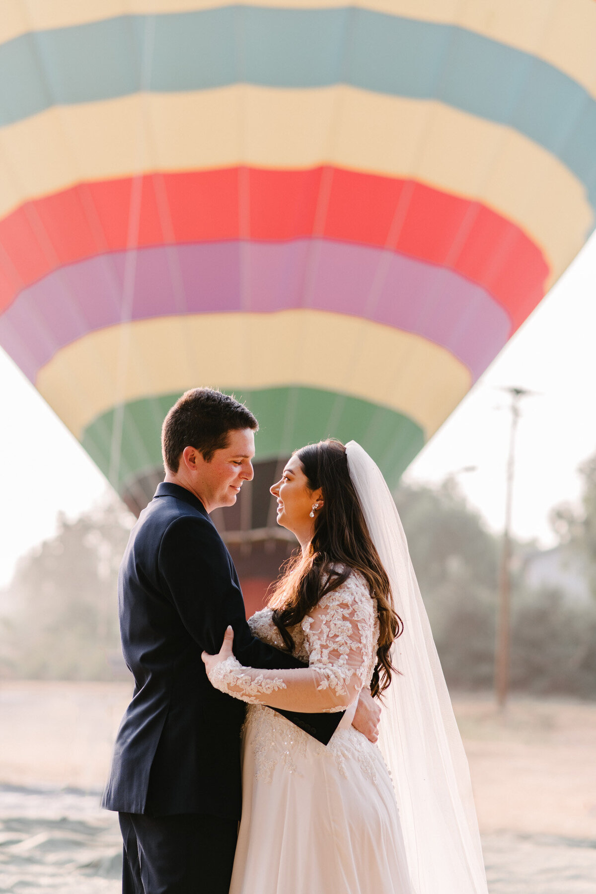 Hot Air Balloon Elopement Marie Monforte Photography-104