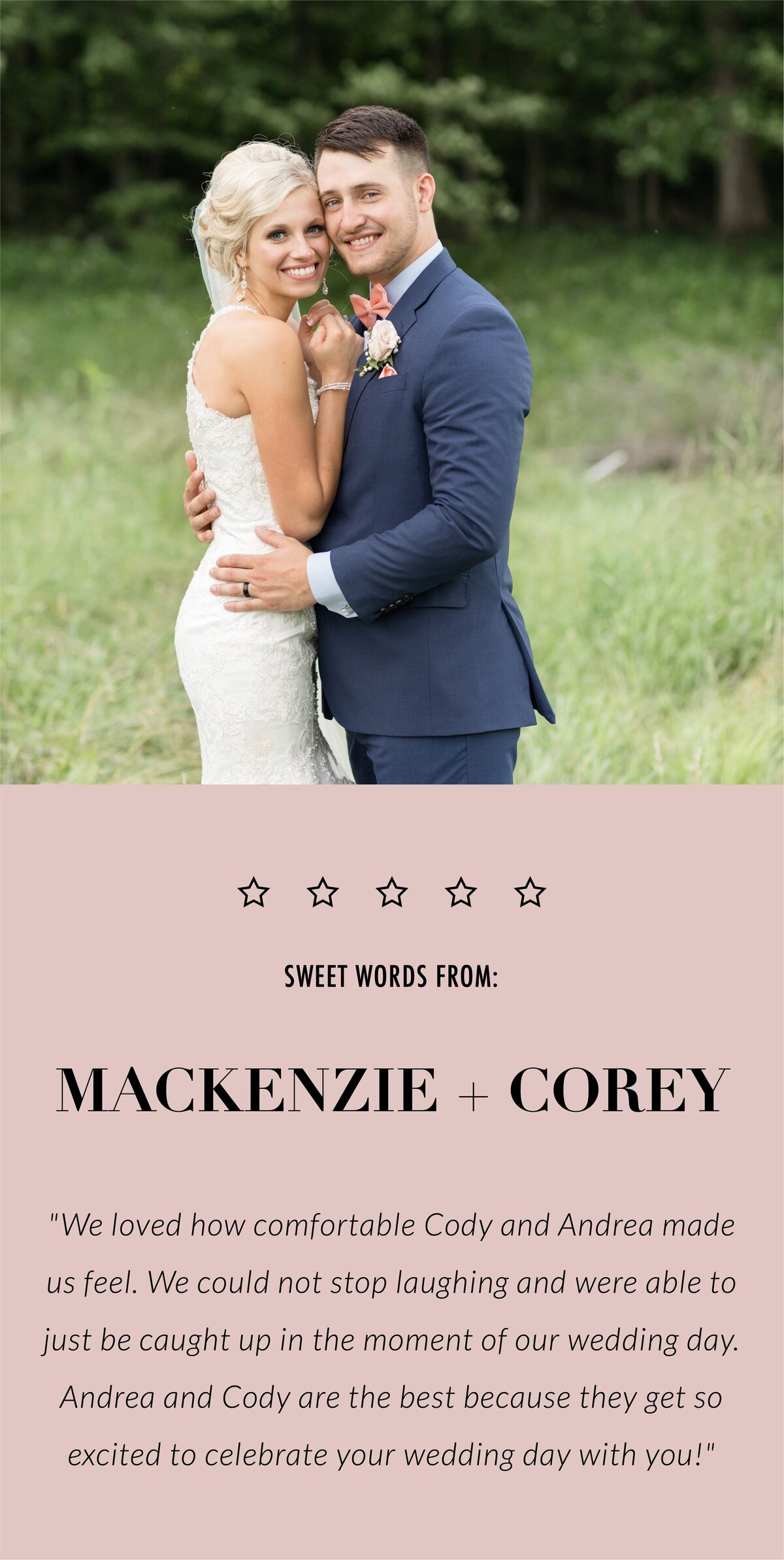 Mackenzie and Corey review-mobile