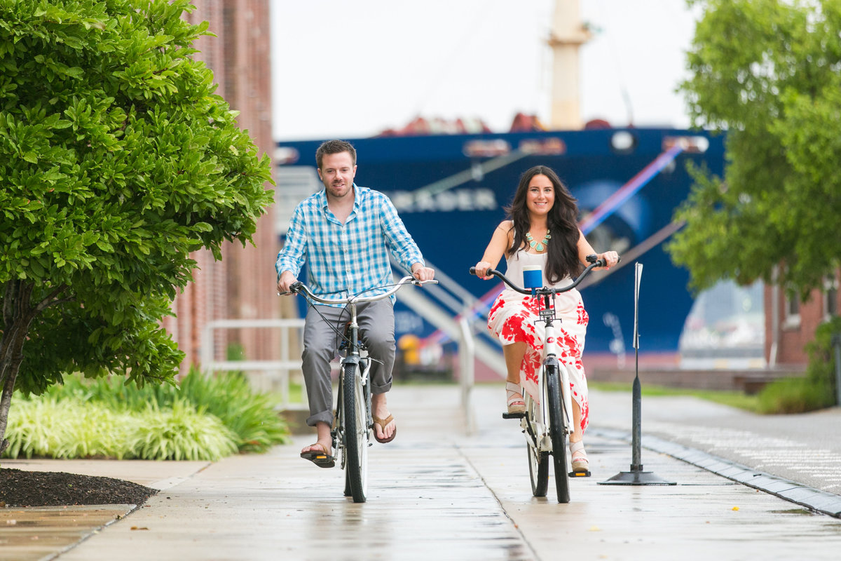 Engagement-Session-on-bikes-Tide-Point