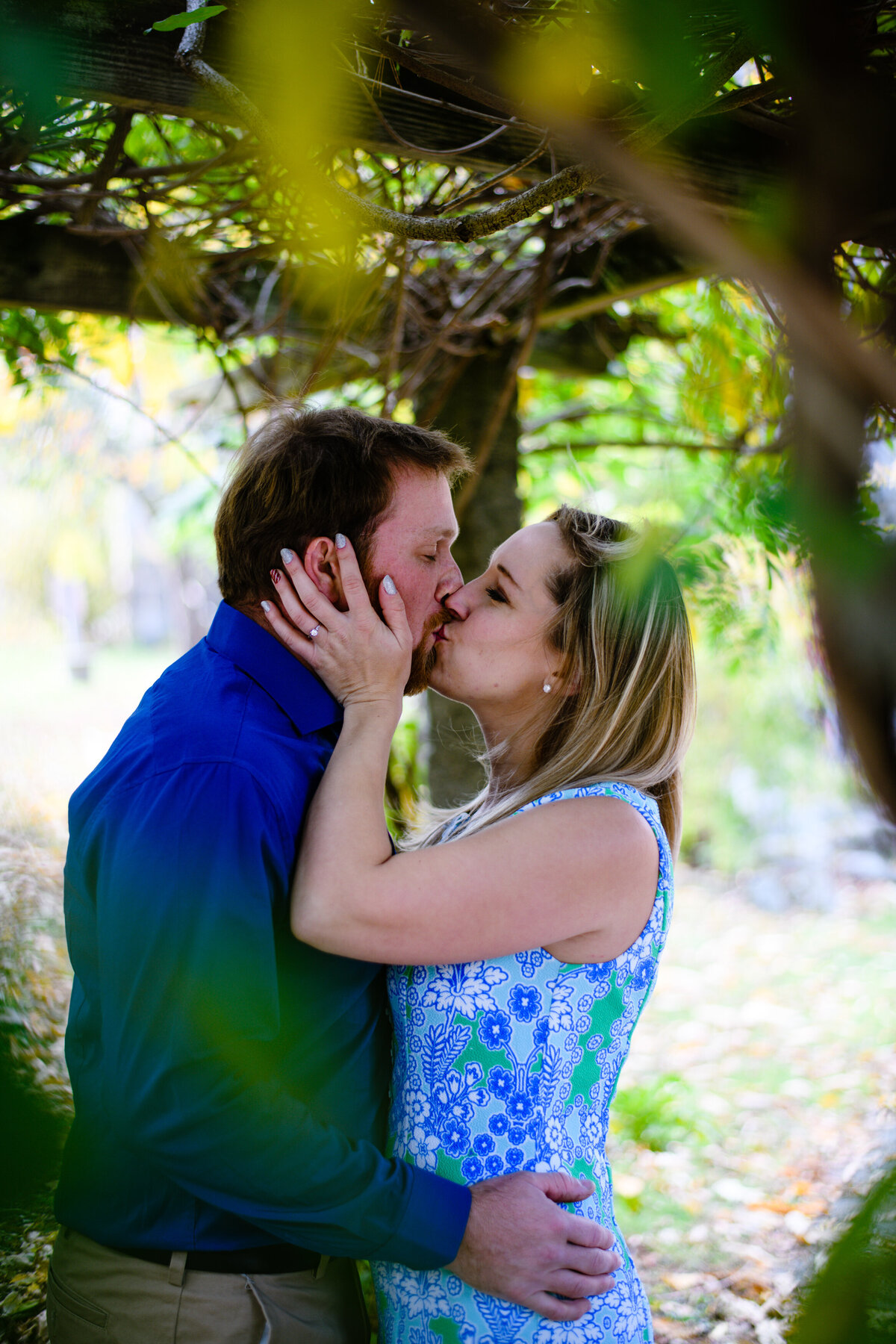 Engagement session for New Hampshire couple