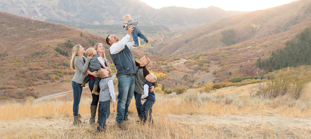 Snowbasin Fall Family Pictures - Jessie and Dallin cover - 2